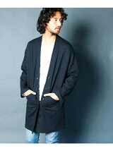 INDIGO URAKE DROP LONG CARDIGAN