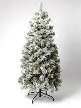 クリスマスツリー snow 150cm