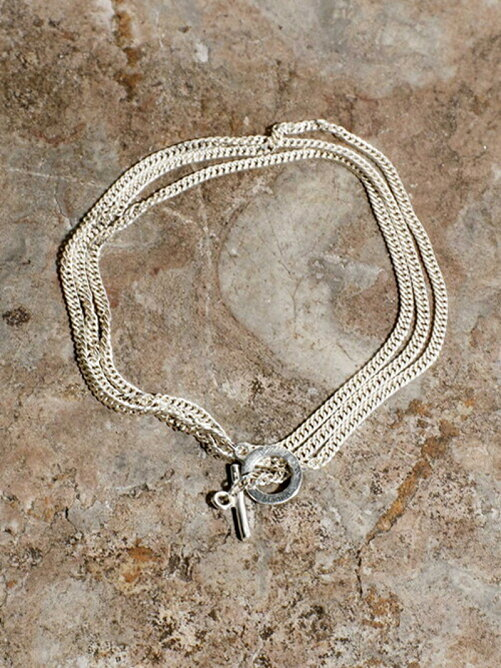 SILVER KIHEI CHAIN NECKLACE