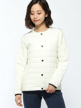 (W)W WOOL CLOUD QUILTED JACKET