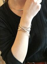『LEE』5月号掲載レザーナローブレスレット