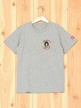 (K)ショートスリーブバックイラストプリントTシャツ
