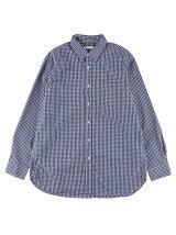 Men's ギンガクチェック 長袖ビッグシルエットシャツ