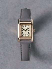 UNITED ARROWS UBBTスクエアレザーベルト腕時計1 ユナイテッドアローズ ファッショングッズ 腕時計 ピンク ゴールド シルバー イエロー【送料無料】