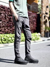 ATTACHMENT/TA/PE DOUBLE FACE BIKER EASY PANTS