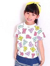 ANAPKIDSカラフルロゴTシャツ