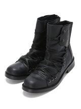 (M)ボストゥレースアップブーツ ブラック