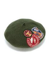 ワッペンペタッベレー帽