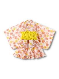 【SALE/50%OFF】branshes 中花柄セパレート浴衣 ブランシェス ビジネス/フォーマル 着物/浴衣 パープル オレンジ