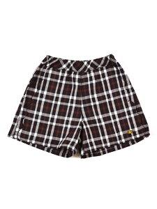 【SALE/68%OFF】SLAP SLIP チェック スカラップ チャーム付き ショートパンツ (80cm~150cm) ベベ オンライン ストア パンツ/ジーンズ ショートパンツ ブラウン