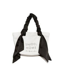 SNIDEL HOME オーガニックキャンバスバッグ SMALL スナイデルホーム その他 その他 ブラック ブラウン