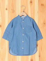 (K)バンドカラーLシャツ/7S