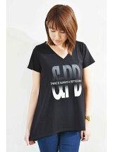 グラデーションロゴAラインTシャツ