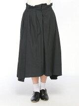 コットンフラノテールカットスカート