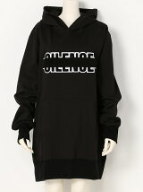 SILENCE WAPPEN OVERSIZE HOODED SWEAT