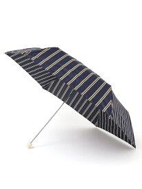 【SALE/30%OFF】SHIPS any w.p.c: ストライプ ミニアンブレラ シップス ファッショングッズ 日傘/折りたたみ傘 ネイビー ホワイト