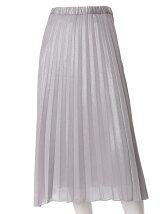 【INED25周年記念】メタルラメプリーツスカート