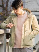 【WEB限定】SC★★ナイロン ナカワタ ショートモッズ コート †