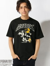 LOWBLOW KNUCKLE/(M)PUNKROCK SNOOPY Tee