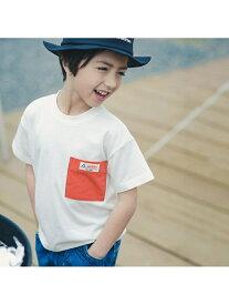 RADCHAP 【GERRY】吸水速乾バックロゴTシャツ ブランシェス カットソー Tシャツ ホワイト パープル ブラック