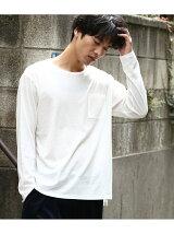 ビヨンド強撚フライスTシャツ