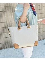 キャンバスパリジャントートバッグ/Lサイズ