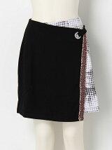 ラップ台形スカート