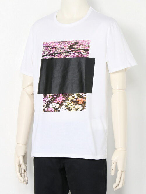 AR SILEMCE PHOTO PRINT TEE