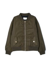 ハイデンシティギャバMA-1ジャケット