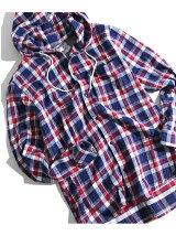 BROWNY STANDARD/(M)シャギーネルフードシャツ