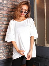 ANAPバッククロスオープンTシャツ