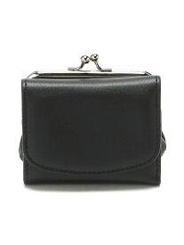 【SALE/37%OFF】BROWNY BROWNY/(L)三つ折りガマグチウォレット ウィゴー 財布/小物 財布 ブラック ブラウン グレー シルバー