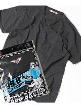 (M)ベーシックVネック半袖Tシャツ/ナノテック加工