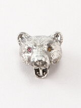 bear pierced earring(片耳用)