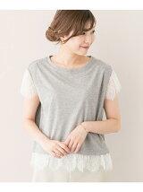 イタリア糸レースTシャツ