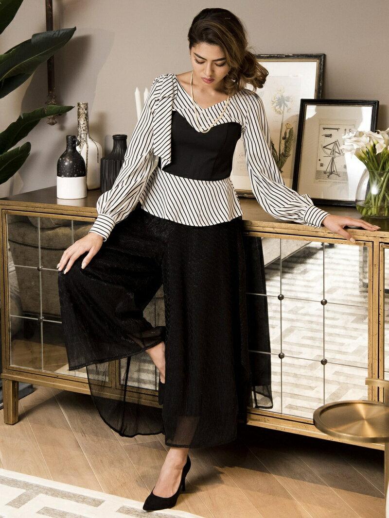 Million Carats バックスカートパンツ[DRESS/ドレス] ミリオンカラッツ パンツ/ジーンズ【送料無料】