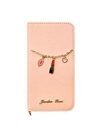 UNiCASE UNiCASE/(U)ミニチュアチャームウォレットケース ユニケース ファッショングッズ 携帯ケース/アクセサリー ピンク