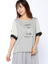 【Rydia】ハッピーリボンスリーブTシャツ