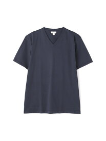 SUNSPEL MEN'S TWO FOLD 60'S MIDWEIGHT JERSEY サンスペル カットソー カットソーその他 ネイビー ブラック ホワイト【送料無料】