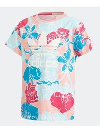 【SALE/65%OFF】adidas Originals Tシャツ [TEE] アディダスオリジナルス(キッズ/子供用) アディダス カットソー キッズカットソー ピンク