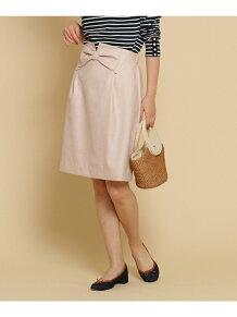 【SS・Sサイズあり】フロントリボンブッチャ-スカート