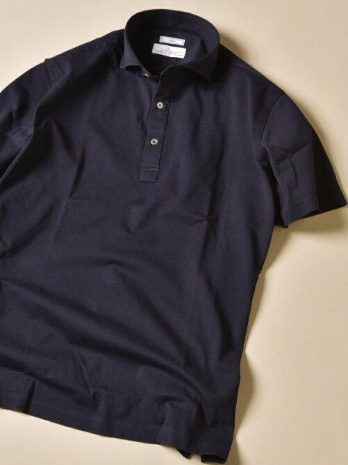 【SHIPS】Icotoniカノコショートスリーブポロシャツを見る