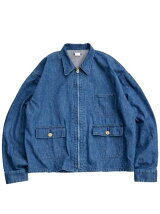SUNNY SPORTS/(M)BK DENIM EG SHORT JACKET