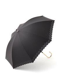 Afternoon Tea パンチングスター晴雨兼用長傘日傘 アフタヌーンティー・リビング ファッショングッズ ファッショングッズその他 ブラック ネイビー
