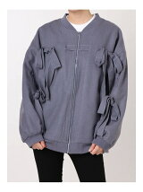 Ribbon Stitch blouson
