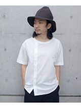 ASYMMETRY BROAD SHIRT