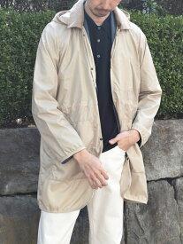 SHIPS 【SHIPS別注】LAVENHAM: ギャザー レイドン コート シップス コート/ジャケット カバーオール ベージュ ネイビー【送料無料】
