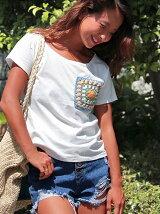 MIMPIカギアミワッペンTシャツ