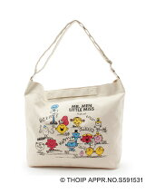 Mr. Men Little Miss×HusHusH ショルダーバッグ