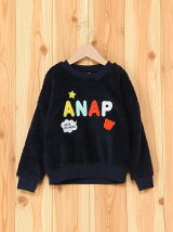 ANAPKIDSワッペン付ボアTOPS
